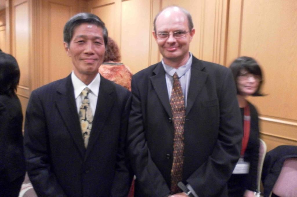 Kawamura Taizan & Bruce Crossman