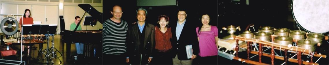 Bruce Crossman, Chinary Ung Lynn Varton, Koji Nakano
