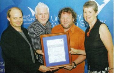 Bruce Crossman, Michael Atherton, Garth Paine & Diana Blom