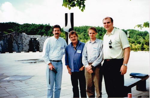 Brenton Broadstock, Peter Sculthorpe, Bruce Crossman and Ian Shanahan, Art Park, Sapporo, 1990