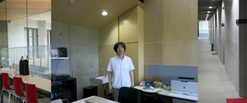 Professor Akira Kobayashi, Aichi University of the Arts (photo: © Eve Duncan)